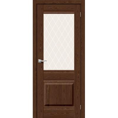 Прима-3 Brown Dreamline/White Сrystal, Двери Браво