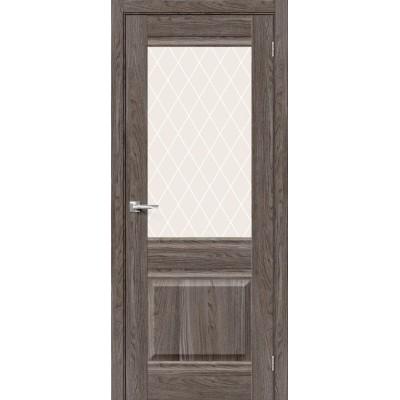 Прима-3 Ash Wood/White Сrystal, Двери Браво