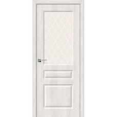 Скинни-15 Casablanca/White Сrystal Двери Браво