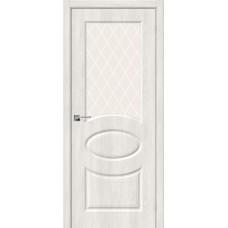 Скинни-21 Casablanca/White Сrystal Двери Браво