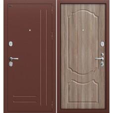 Р2-210 Антик Медь/П-1 (Темный Орех) (Двери Браво), Bravo