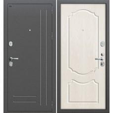 Р2-210 Антик Серебро/П-25 (Беленый Дуб) Двери Браво, Входные двери Bravo