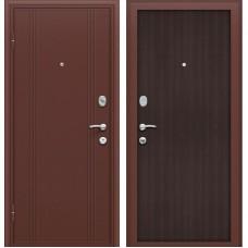Двери Браво, Door Out 201 Антик Медь/Wenge Veralinga, Bravo