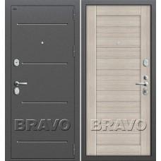 Т2-221 Антик Серебро/Cappuccino Veralinga (Двери Браво), Bravo
