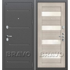 Т2-223 Антик Серебро/Cappuccino Veralinga (Двери Браво), Bravo