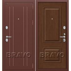 T2-232 Антик Медь/Brown Oak Dveri Bravo, Браво