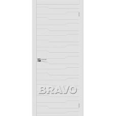 Двери Браво, Граффити-1 К-23 (Белый), Bravo
