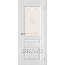 Статус-15 П-23 (Белый) Двери Браво