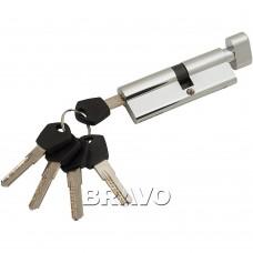 Цилиндр Ключ-фиксатор Avers АМ-90-С (50*40) CR Хром
