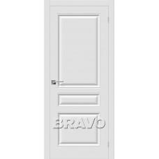 Скинни-14 П-23 (Белый) Двери Браво