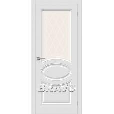 Скинни-21 П-23 (Белый) Двери Браво