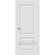 Скинни-12 П-23 (Белый) Двери Браво
