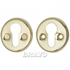 Накладка под цилиндр Bravo FIN 016-СL G Золото