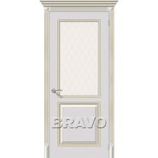 Двери Браво, Блюз К-24 (Белое Золото), Bravo