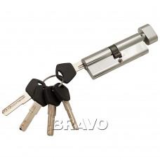 Цилиндр Ключ-фиксатор Avers АМ-90-С (45*45) CR Хром