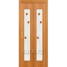 22Х Л-12 (МиланОрех) Двери Браво, Bravo