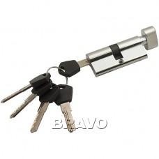 Цилиндр Ключ-фиксатор Avers АМ-70-С (35*35) CR Хром