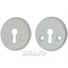 Накладка под ключ Bravo FIN 016-K W Белый
