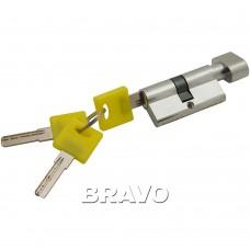Цилиндр Bravo ZF-60-30/30 C Хром