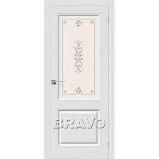 Скинни-13 П-23 (Белый) Двери Браво