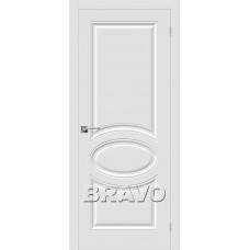 Скинни-20 П-23 (Белый) Двери Браво