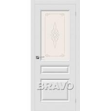 Скинни-15 П-23 (Белый) Двери Браво