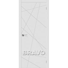 Двери Браво, Граффити-5 К-23 (Белый), Bravo